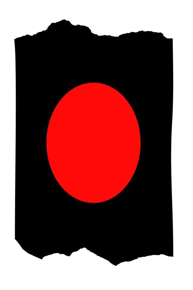 Pantis tupidos negros con rodilleras de color rojas, colección basic colors diseño red
