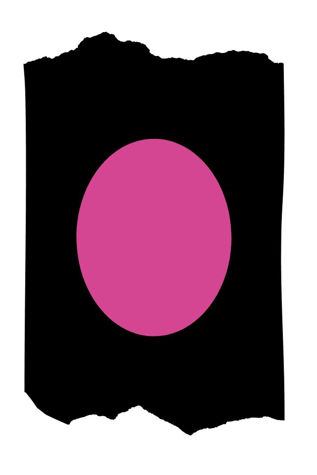 Pantis tupidos de fantasía de color negro con rodilleras de color rosa, colección basic colors diseño pink