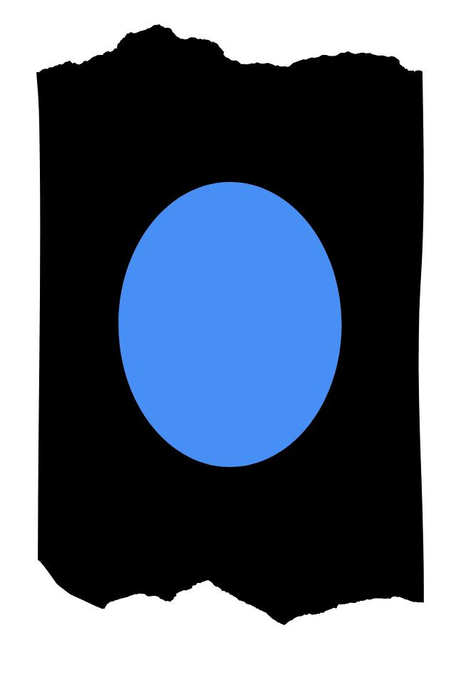 Pantis tupidos negros con rodilleras de color azul, colección basic colors diseño blue