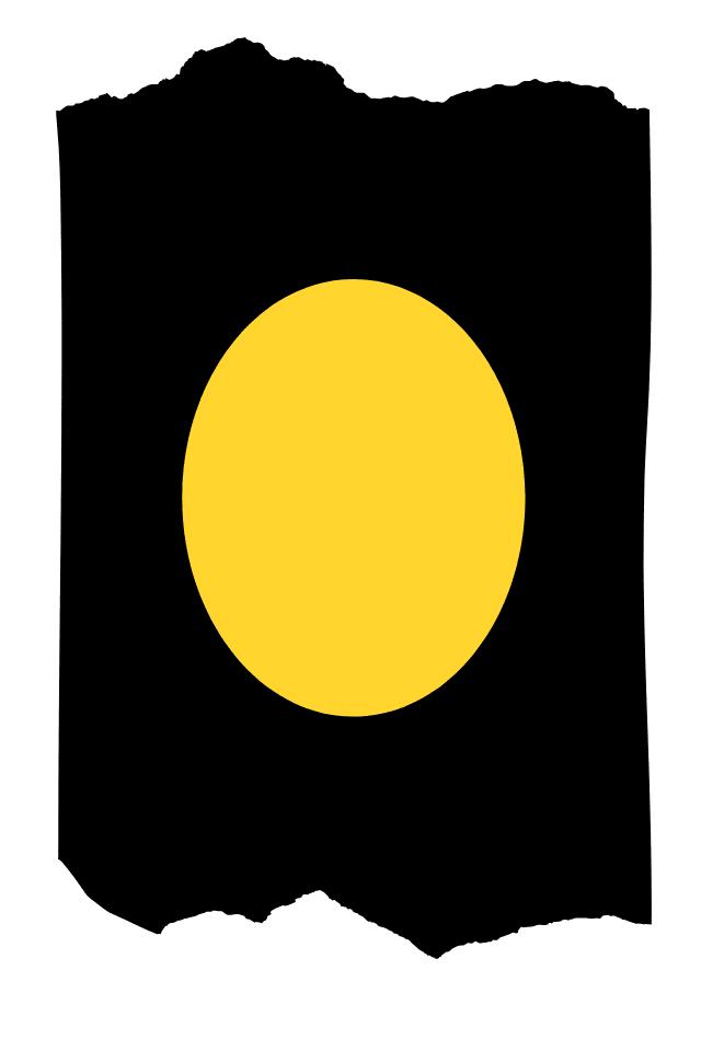 Pantis tupidos negros con rodilleras de color amarillo, colección basic colors diseño Yellow